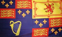 ROYAL BANNER 1603-1689 / 1702-1707 - 5 X 3 FLAG